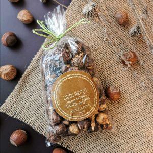 Lazdu rieksti karamelizēti kanēļa griljāžā maisiņā (150g)