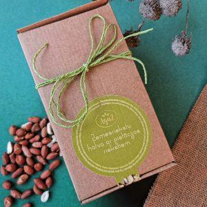Zemesriekstu halva ar pistācijas riekstiem dāvanu kastītē (500g)